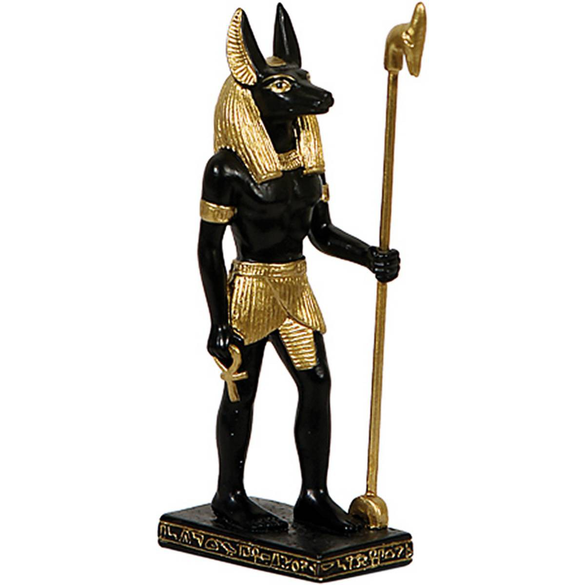 gyptischer Gott Anubis stehend 85cm  eBay