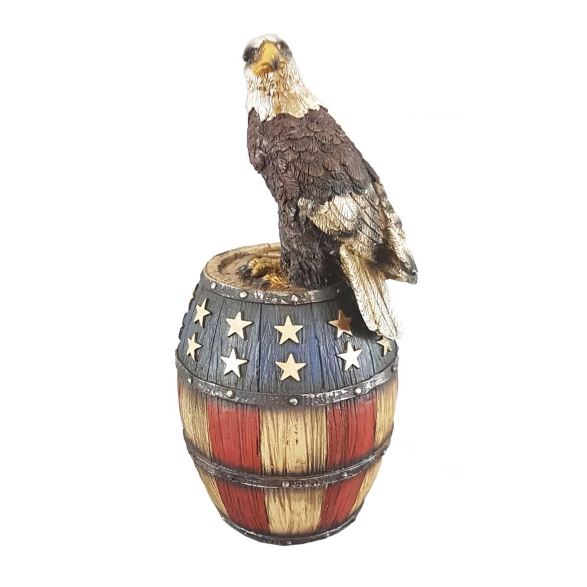western spardose usa eagle barrel us adler und fass kulturen western einrichtung. Black Bedroom Furniture Sets. Home Design Ideas